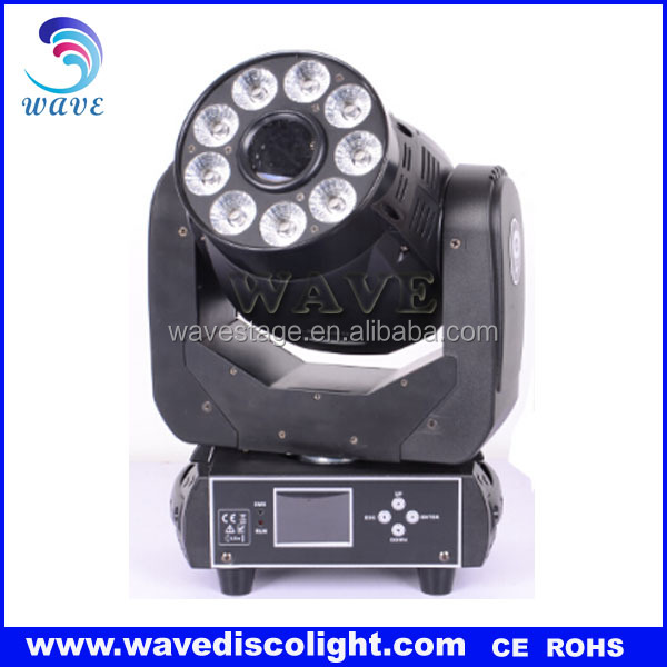 WLEDM-01-1C 75w leds gobo spot and wash stage light mixer in led stage lights