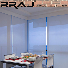 RRAJ Automatic Window Sunscreen Roller Blinds and Curtain