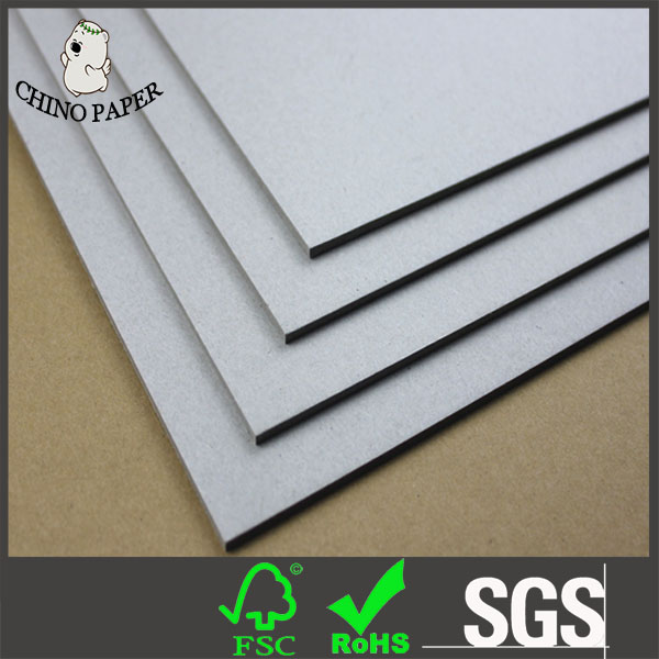 2mm to 4mm Hard stiff board grey board/grey back gray cardboard