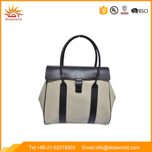 Fashion leather Pu lady bag with 190T linging for selling