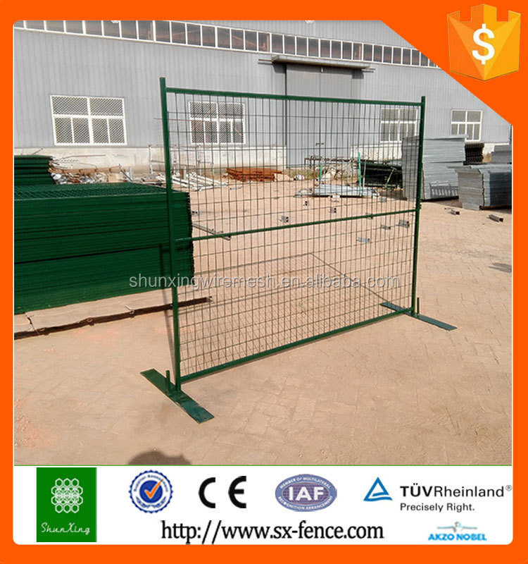 Canada Temporary Fence Welded Wire Mesh Panel
