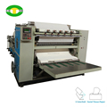 V fold box facial tissue paper folding machine