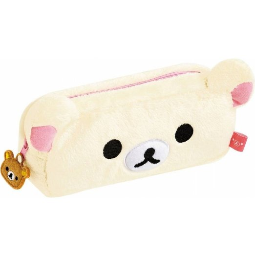 Plush Pencil Case Toys Cute Students Pen Pouch Fancy Gifts For Girls