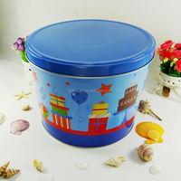 Large gift packaging can festival tin container