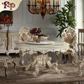 2018 new design solid wood table europe luxury dining table