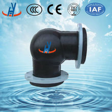 Pipe fittings good sale 90 degree flexible rubber bend