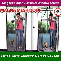 100% polyester Magnetic Mosquito Net Screen Doors