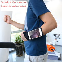 Neoprene Forearm Wristband Waterproof Sports Armband Running Exercise Gym Case Cover for HTC 0ne