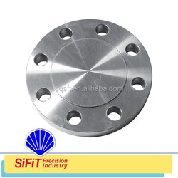 Neck butt welded steel pipe flange