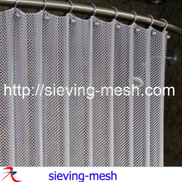 Decorative wire mesh/Aluminum chain curtain/Weave metal fabrics