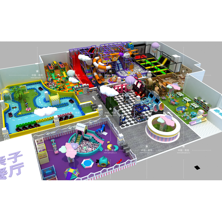 Customized Playground Equipment Free Theme Indoor Children Playground For Sale