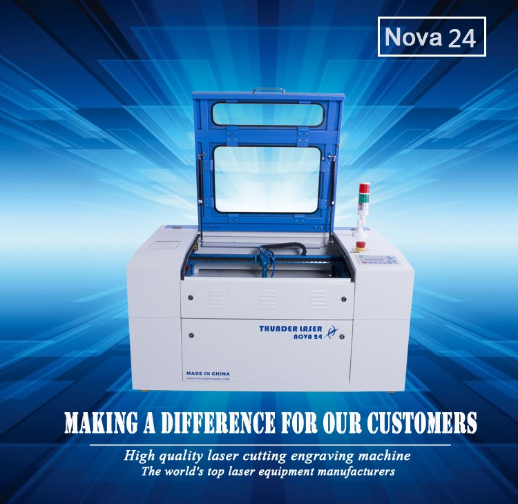 40w/60w Small wood laser cutting machine and hobby laser cutting machine