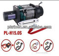 famous brand hand winch single line 15000lb capacity