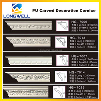 polyurethane decoration products/pu foam cornice for decoration