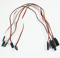 5Pcs 30cm Remote Control Servo Extension Cord Cable Wire AD