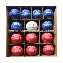 A set of boccia ball