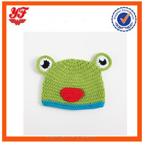 Frog cartoon design baby favourite design knitting hat