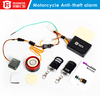 Anti-jammer gps tracker Super mini remote motorcycle alarm lock Remote listening function