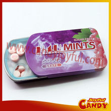 sugar free mints in tins