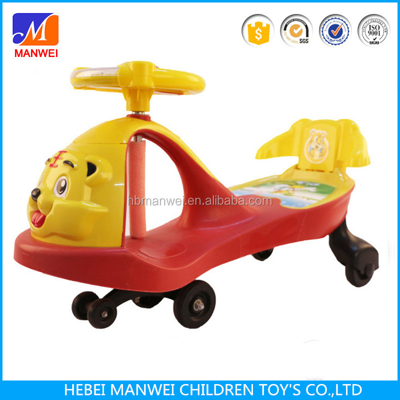 Baby Walker Slide Car Music Toddler Ride-On Toys Swing Car