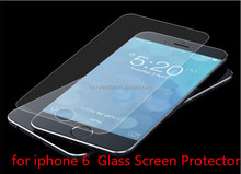 New Arrival Fashion Cartoon 9h tempered glass screen protector for apple iphone 6 Film , Tempered glass for mobile phone