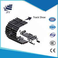Good Price Excavator and bulldozer undercarrige Spare Parts Track Front Idler wheel assembly