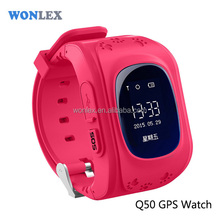 2016 Hot Promotion GPS Kids Tracking Watches With 2 Way Communication and SOS button
