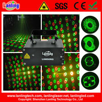 Remote control 12V/ bubbles mini laser light show projector