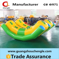 inflatable water games, inflatable water seesaw and slide, inflatable commercial water park