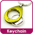 Promotional Gift of Custom Advertising Football Player Shirt Shaped Keychain