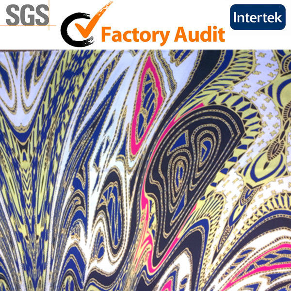 Free Sample Printed Stretch Fabric Printing