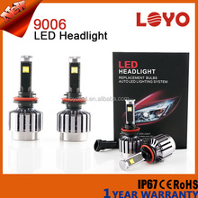Strong power 3000lm Auto motorcycle led 150cc for pulsar,9006 led headlight for bajaj