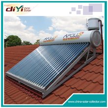 White and Grey color solar water heter with auto filling