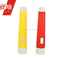 Factory Direct Sale Slim 1.5W Battery Powered LED Strong Light Flashlight