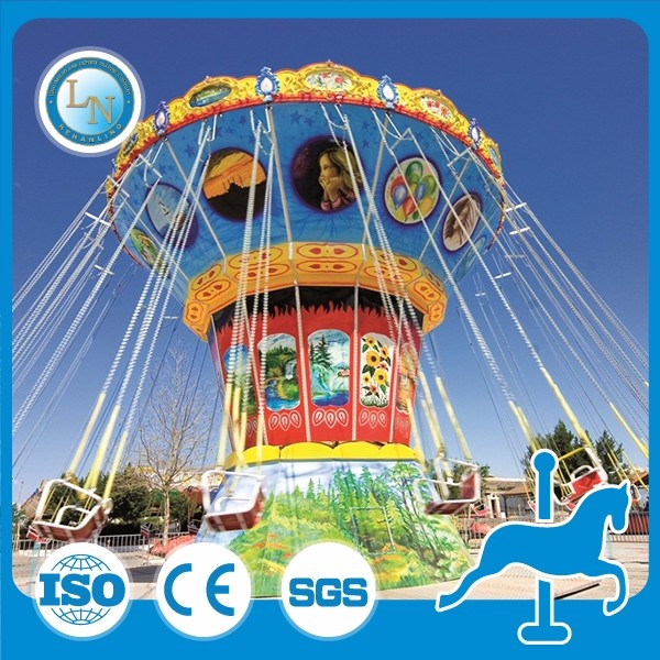 Henan LINO 36 seats amusement theme park ride flying chair game