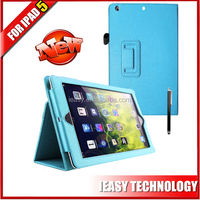 Leather 360 Degree Rotating Case Cover Stand case for ipad air 5