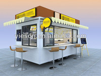 Hot Dog, Beverage, Ice Cream, and Customized Snack Pushcarts YS-400A