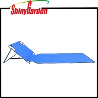 Portable Outdoor Folding Lounge Chair Padded Beach Mat Great for Camping