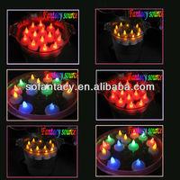 floating led tea light,led floating candle,led floating light candle