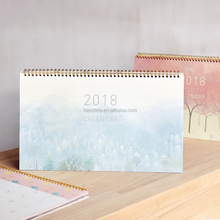 Custom 2018 High Quality Desk Printing Calendar,Calendars Planners, Paper Table Calendar