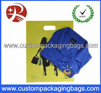 2013 NEW Style die cut shopping plastic bag