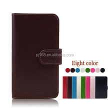 factory price phone cases wallet leather cover case for Amoi N820