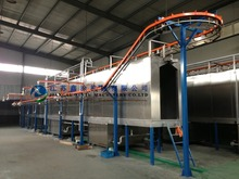 Full Spray Pre-treatment Automatic Powder Coating Production Line