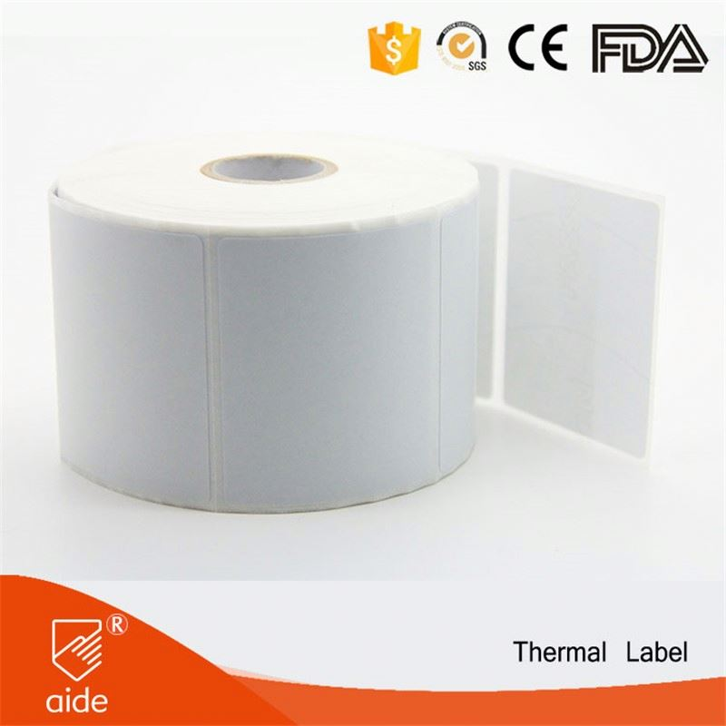 Waterproof Customized Adhesive Thermal Sticker Labels For Tires