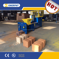 2015 hot sale wood sawdust briquette making machine