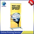 High quality promotional display banner/stand up banner