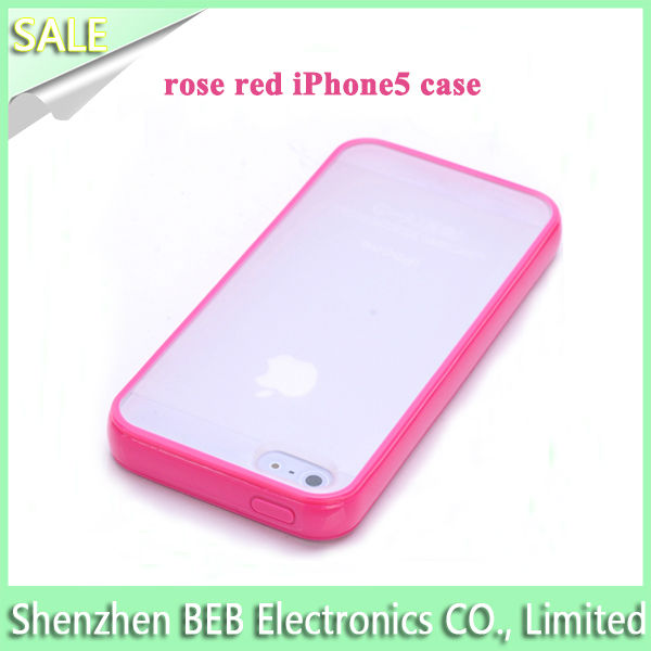 For iPhone 5 tpu case cover has cheap price high quality