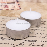 house hold 4hours 100pcs paraffine Wax white unscented Tea Light Candles