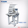 FW-1501 15 needles big sale single head computerized embroidery machine with dahao system for cap and garments