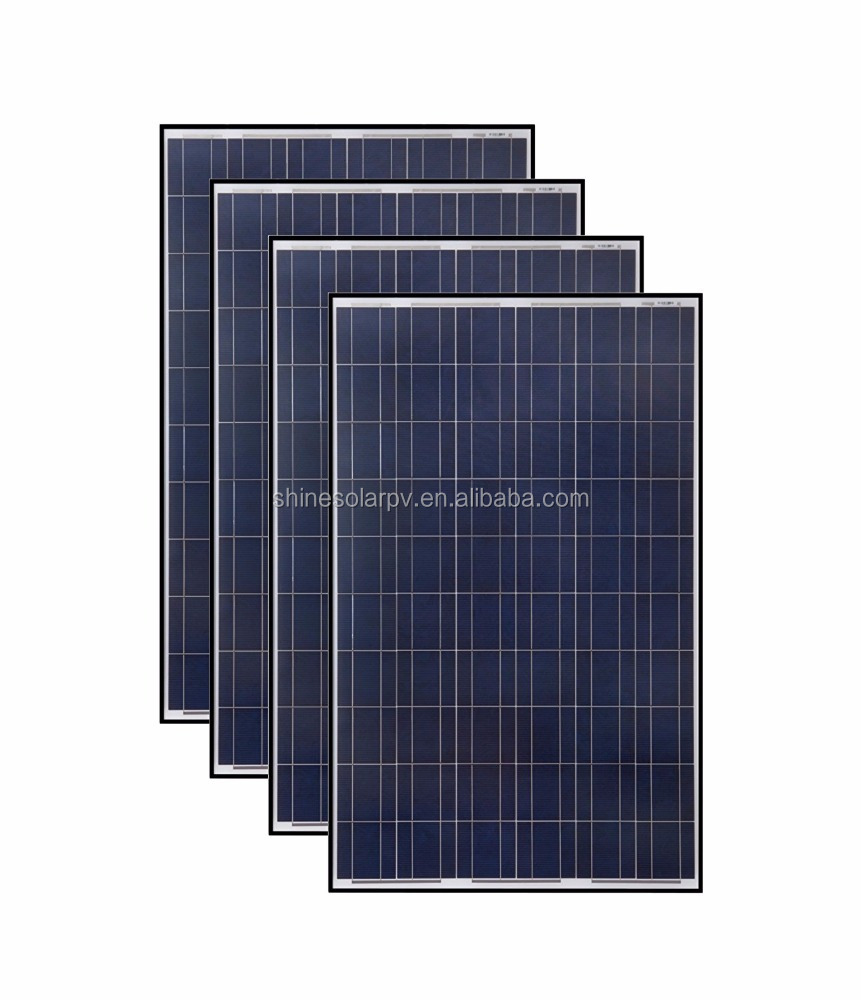 high efficiency polycrystalline solar panel 300 watt for home system